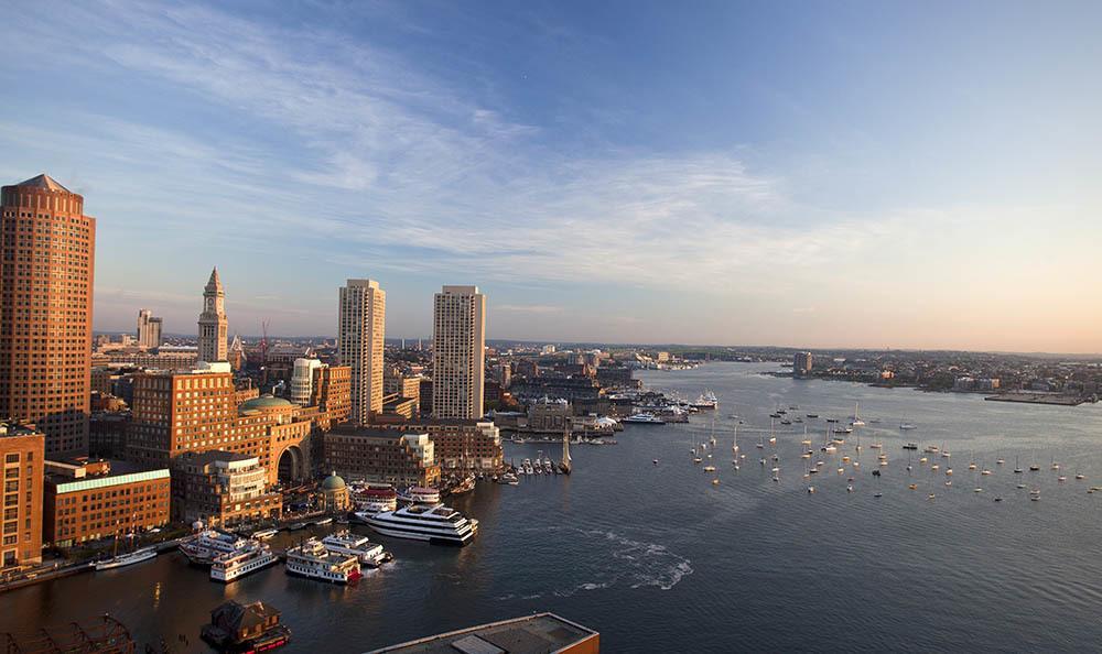 Boston Sky Line View
