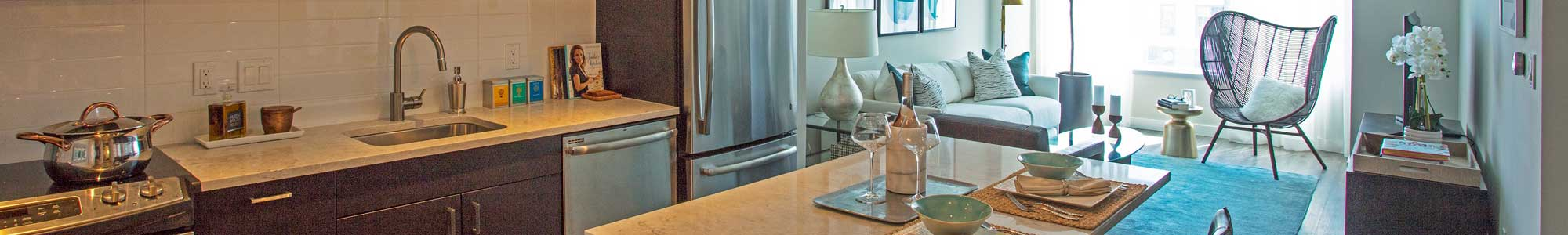 Studio, 1, 2 & 3 bedrooms offered at apartments in Boston
