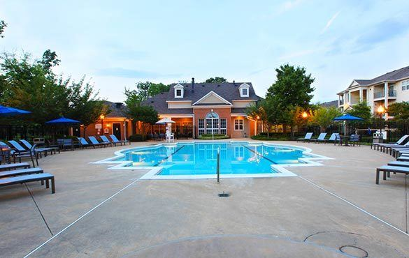 Greer apartment community amenities