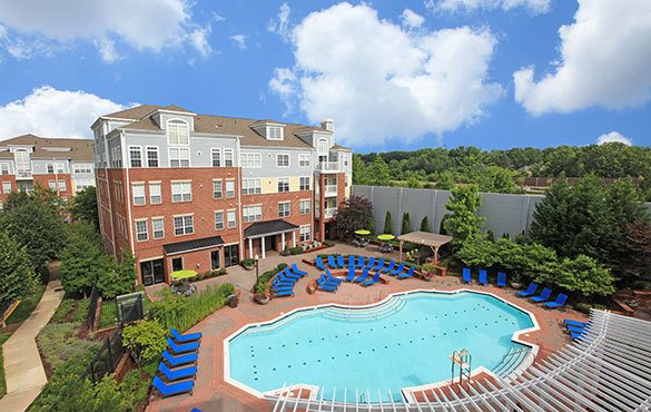 Bethesda Maryland apartment community amenities