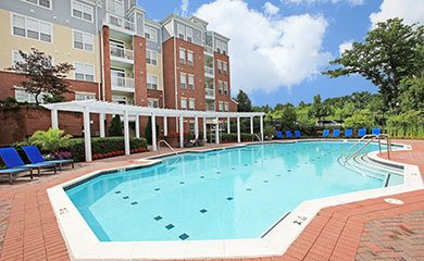 Bethesda Apartments offering a luxurious swimming pool