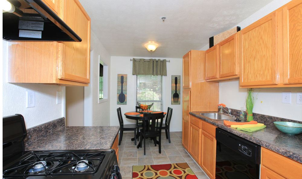 Luxury kitchen at the apartments in Smyrna