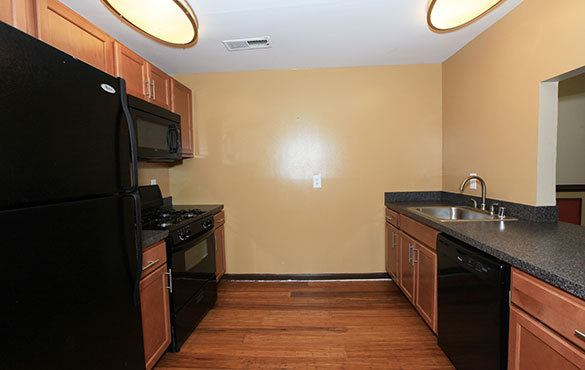 Laurel apartments offering a variety of apartment amenities