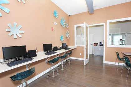 Community office space in Franklin, MA, apartments