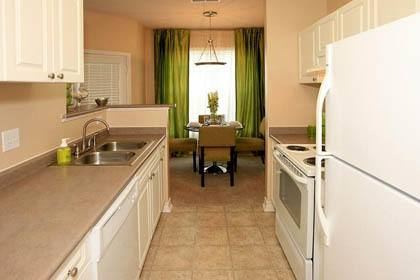 Spacious kitchens in our Franklin TN apartments