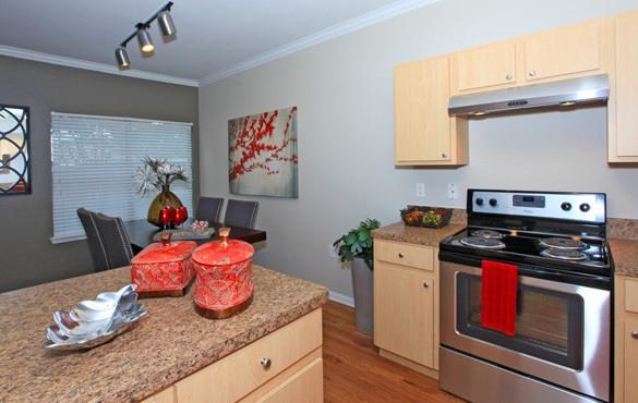 Apartment amenities in Austin