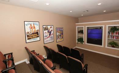 Henderson apartments offering a home theater