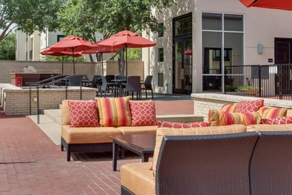 Dallas apartments with an outdoor BBQ