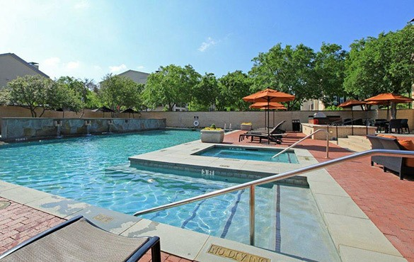 Dallas apartment community amenities