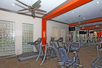 Houston apartments with a fitness center