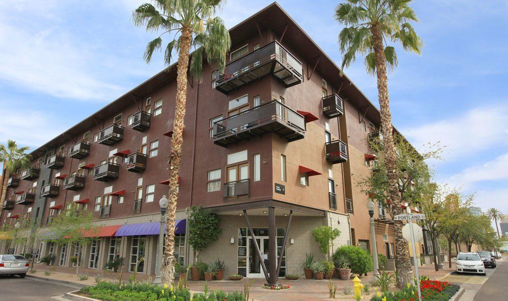 Exterior view of our Phoenix AZ apartments