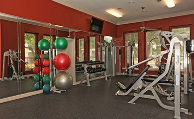 Austin apartments offering a fitness center