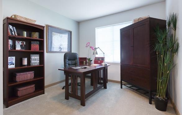 Sherwood apartment community amenities