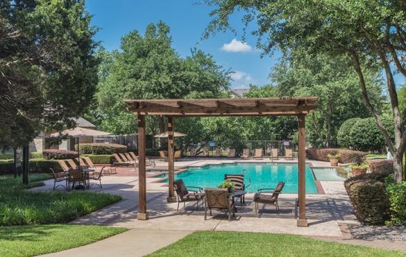 Garland TX apartment community amenities