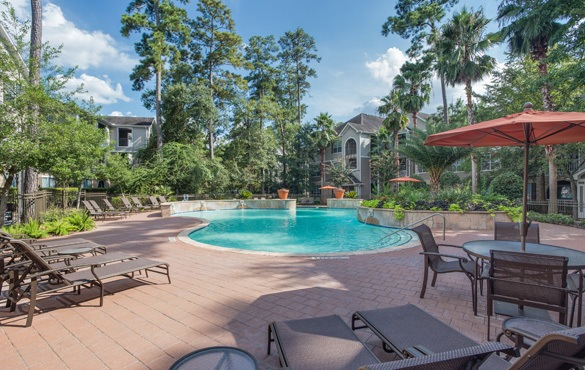Community amenities at our apartments in The Woodlands