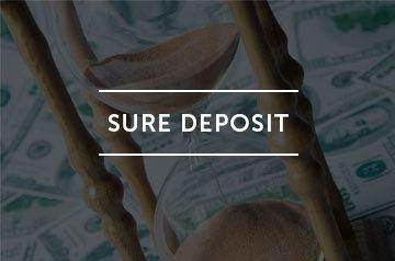 Sure deposit logo