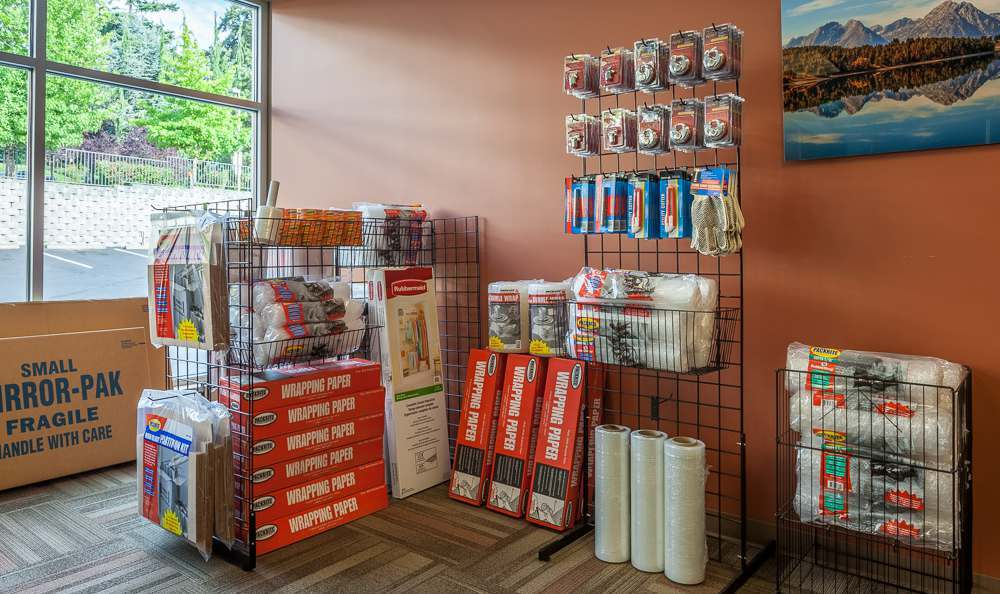 Packing supplies are available at Raceway Heated Storage