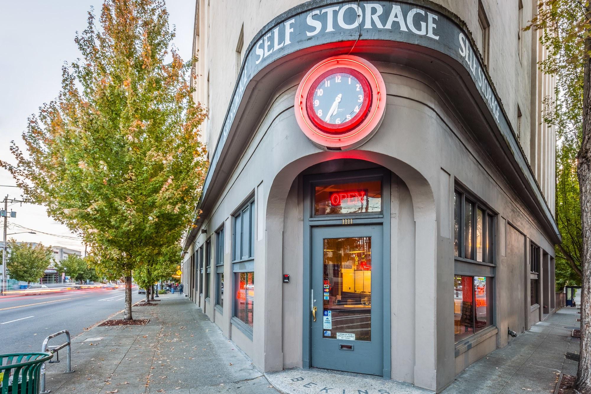 Exterior Self Storage facility Seattle, WA