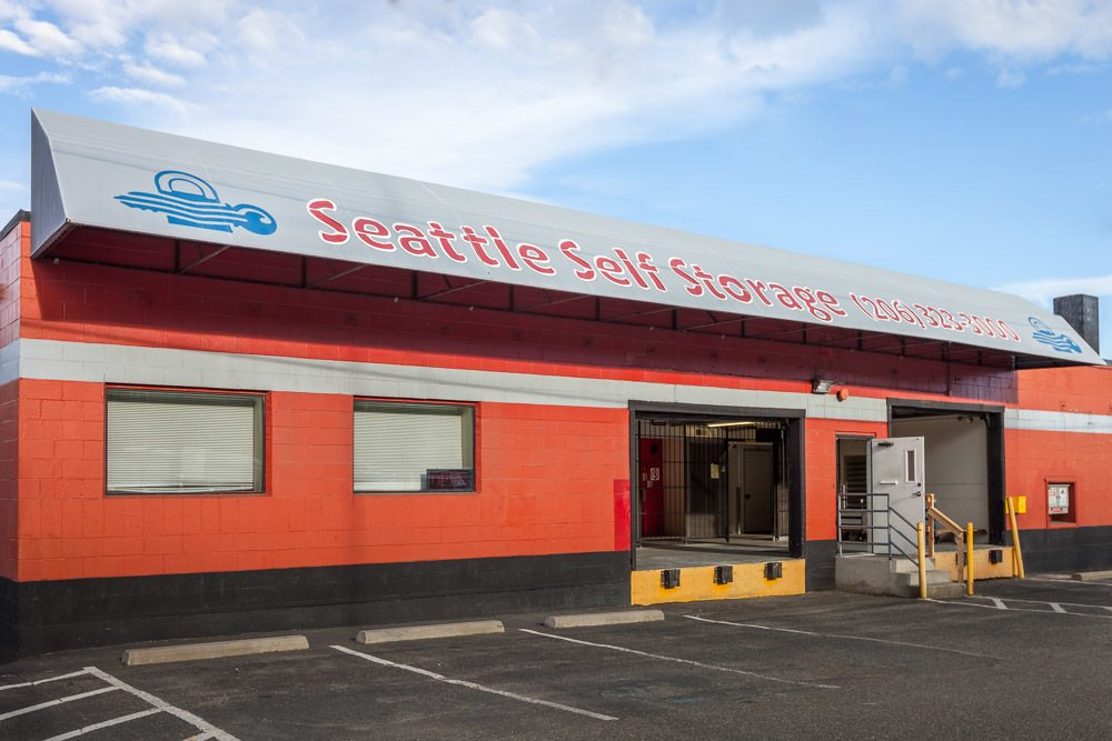 Exterior of our self storage facility in Seattle, WA.