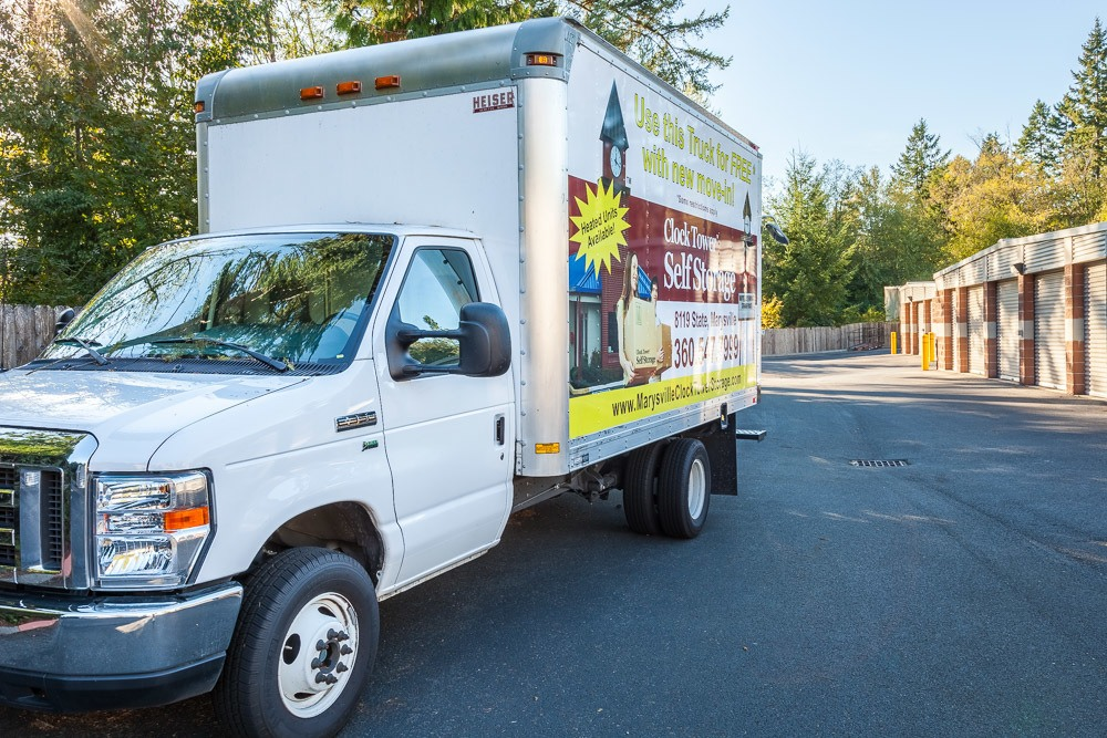 ... We Offer A Free Truck With Move In At Our Self Storage Facility In Mill  Creek ...
