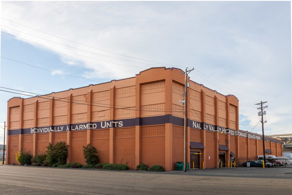 Exterior of our storage facility in Tacoma, WA.