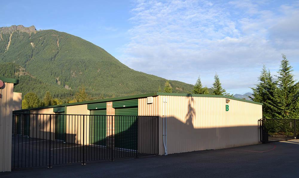 ... Exterior Gated Self Storage Units In North Bend, WA ...