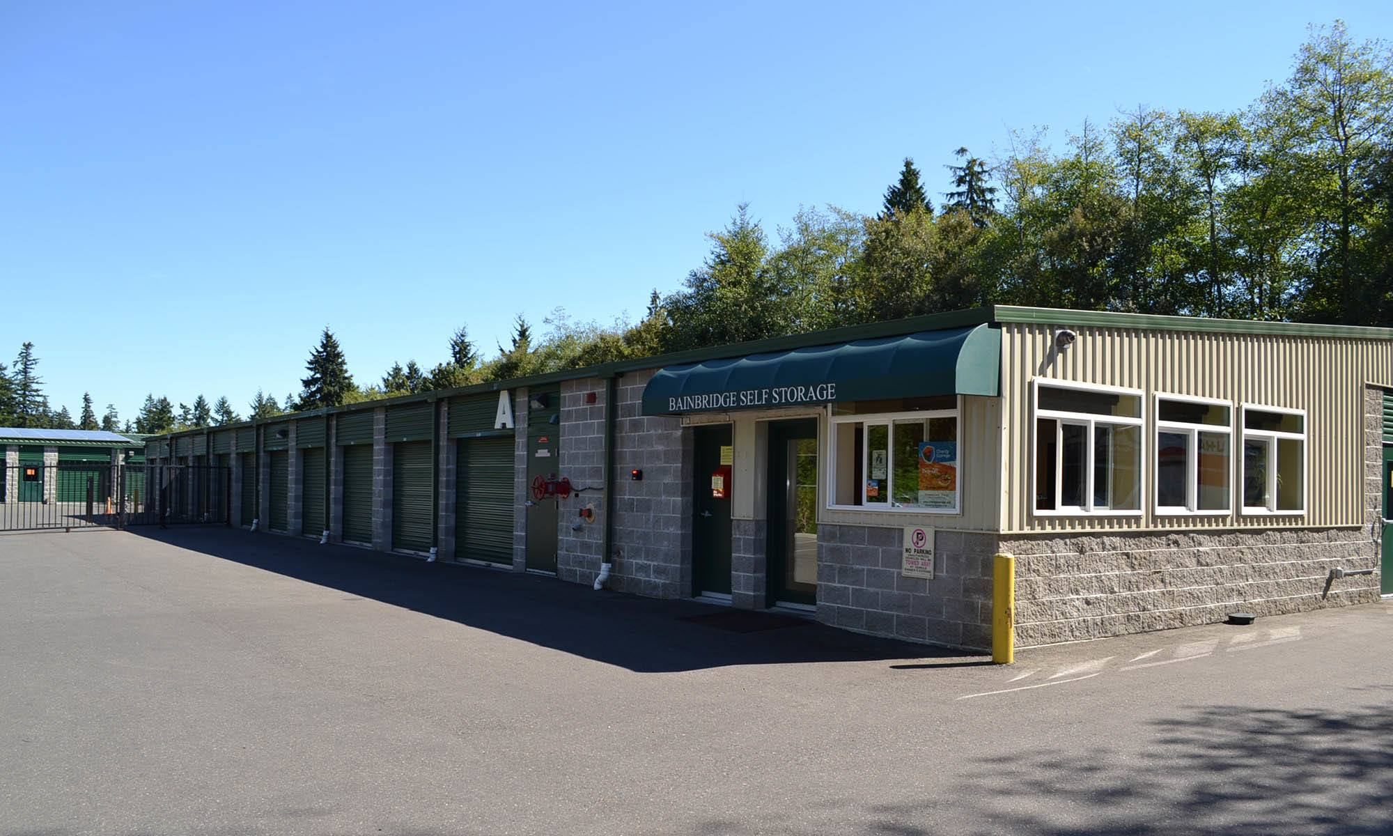 Self storage for all of your needs in Bainbridge Island, WA