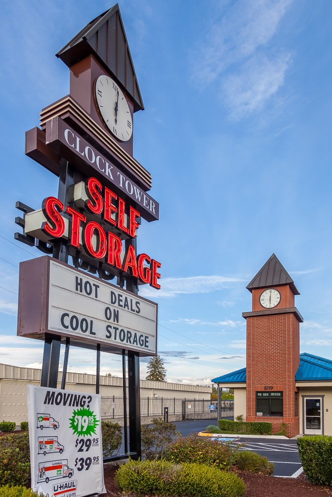High Quality ... Sign Directing You Towards Self Storage In Marysville, WA ...