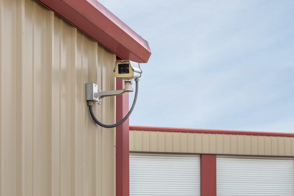 Beautiful ... Exterior Security Cameras At Self Storage In Keizer, OR.