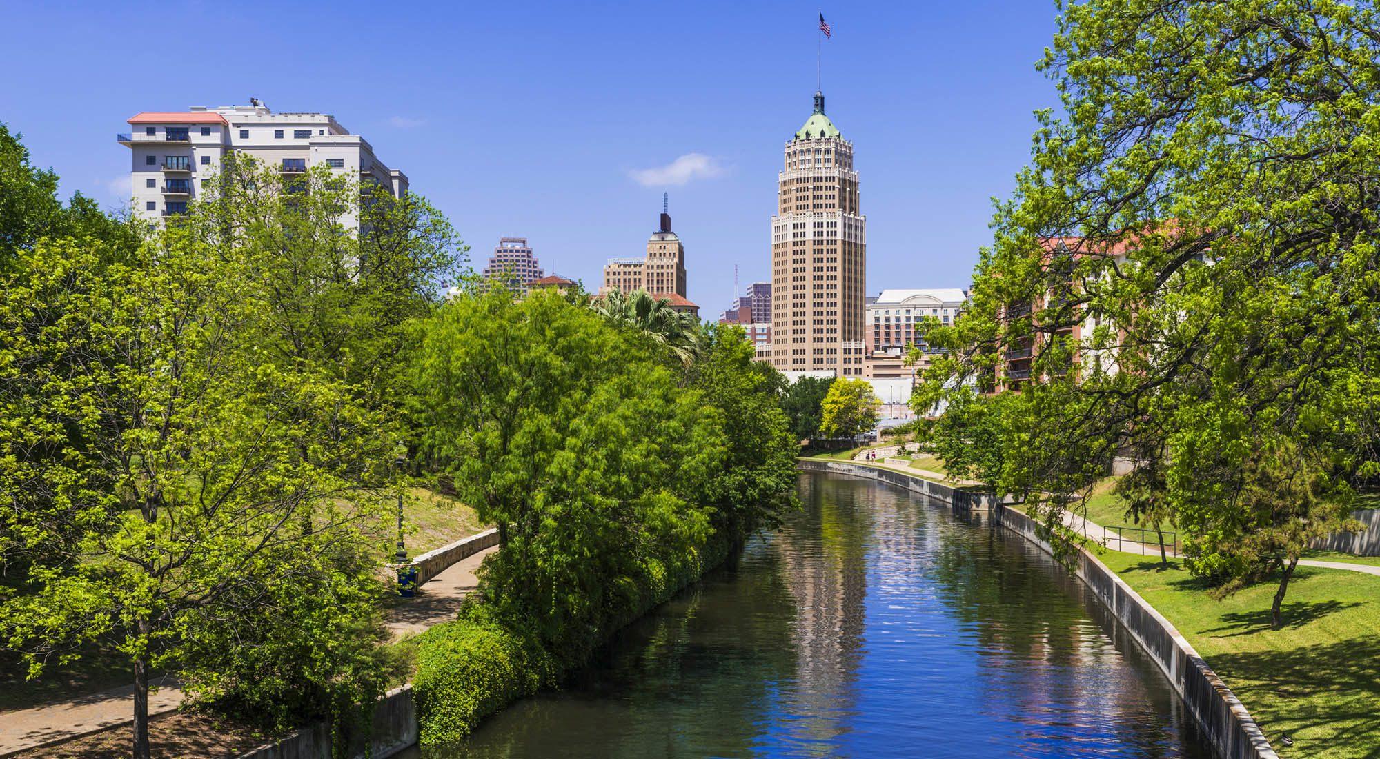 View of downtown San Antonio