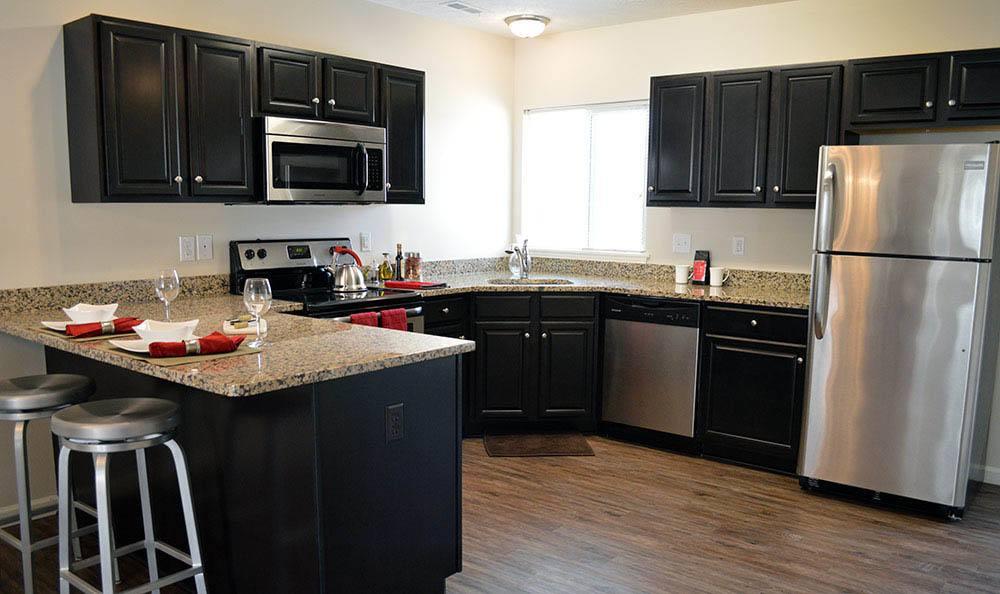 Auburn Creek Apartments Spacious Kitchen
