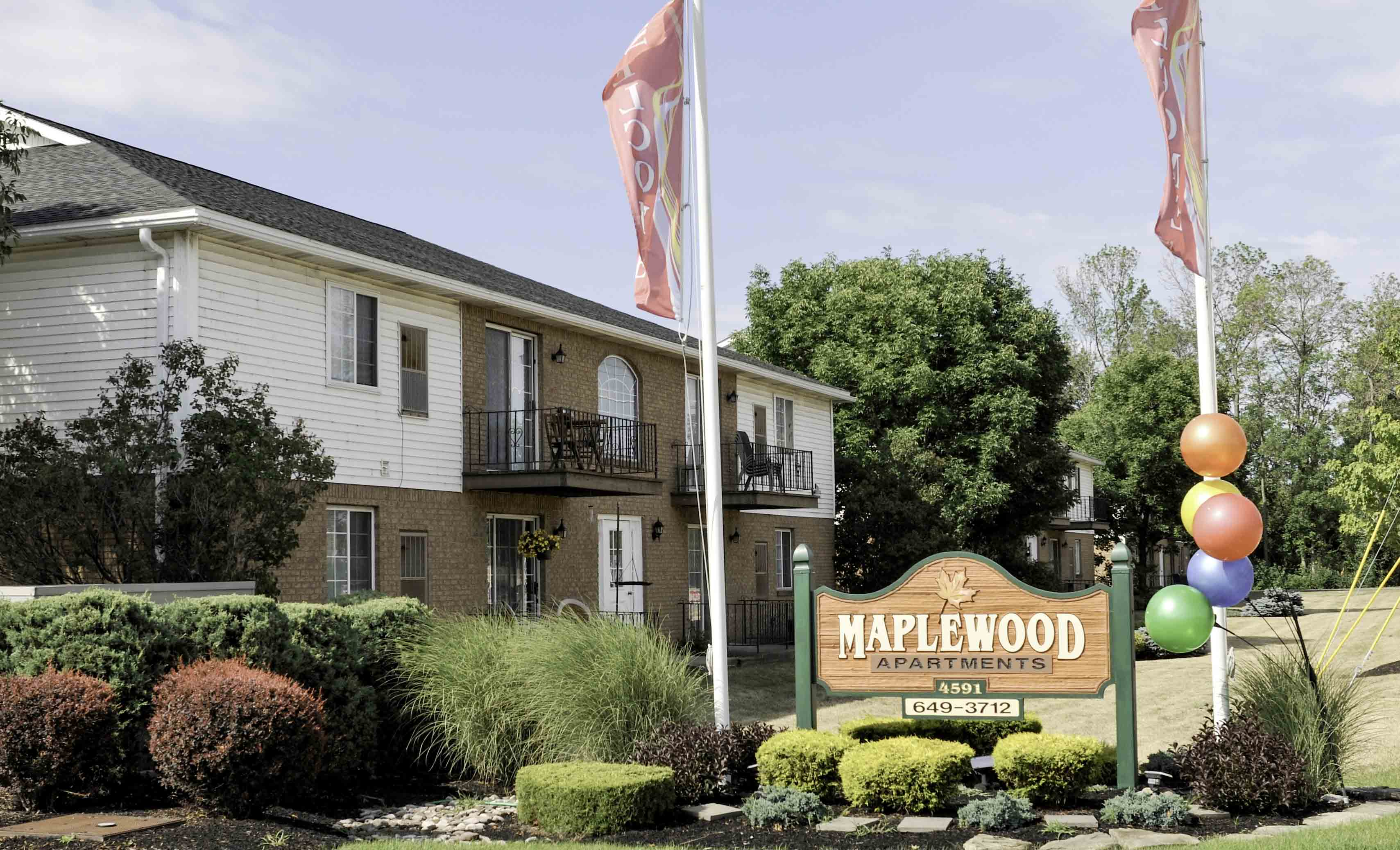 Welcome to Maplewood Estates Apartments in Hamburg, NY
