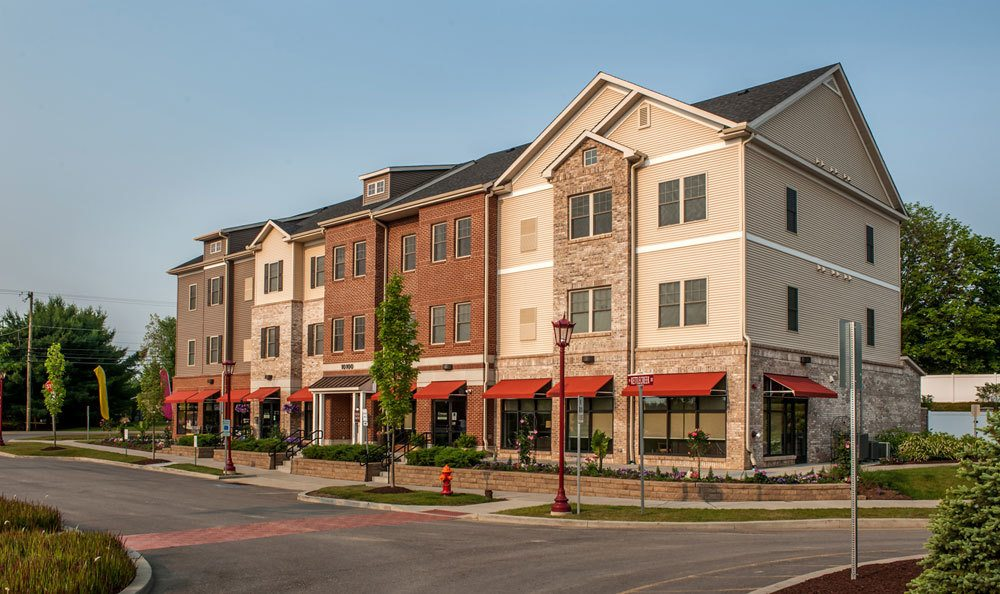 Cranberry Township apartments for rent. Front shot of our luxury exterior
