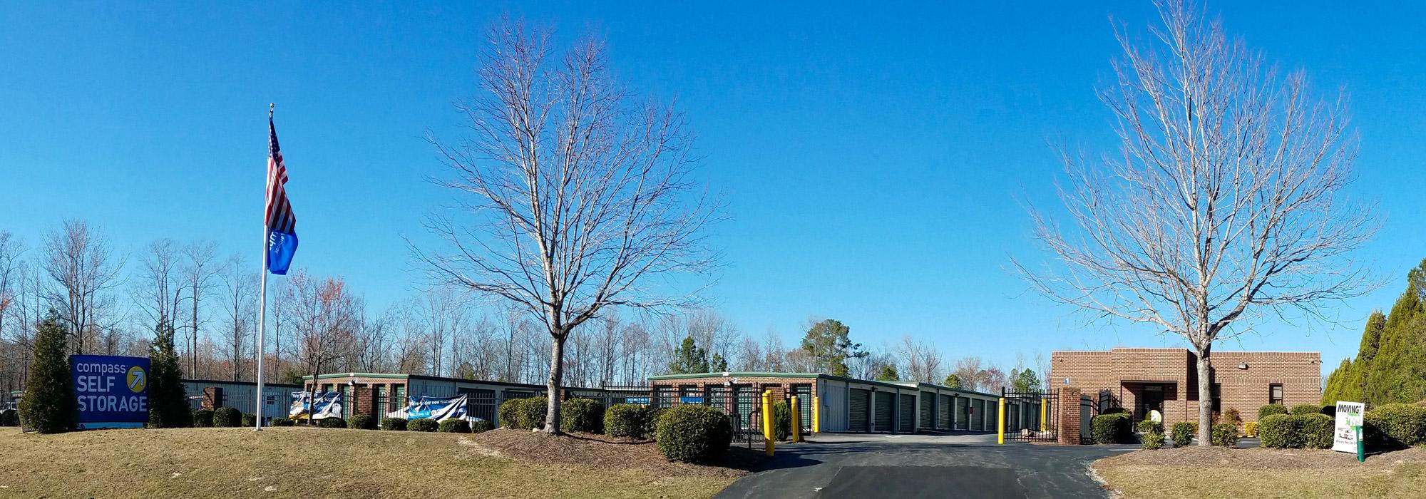 Self storage in Wendell NC