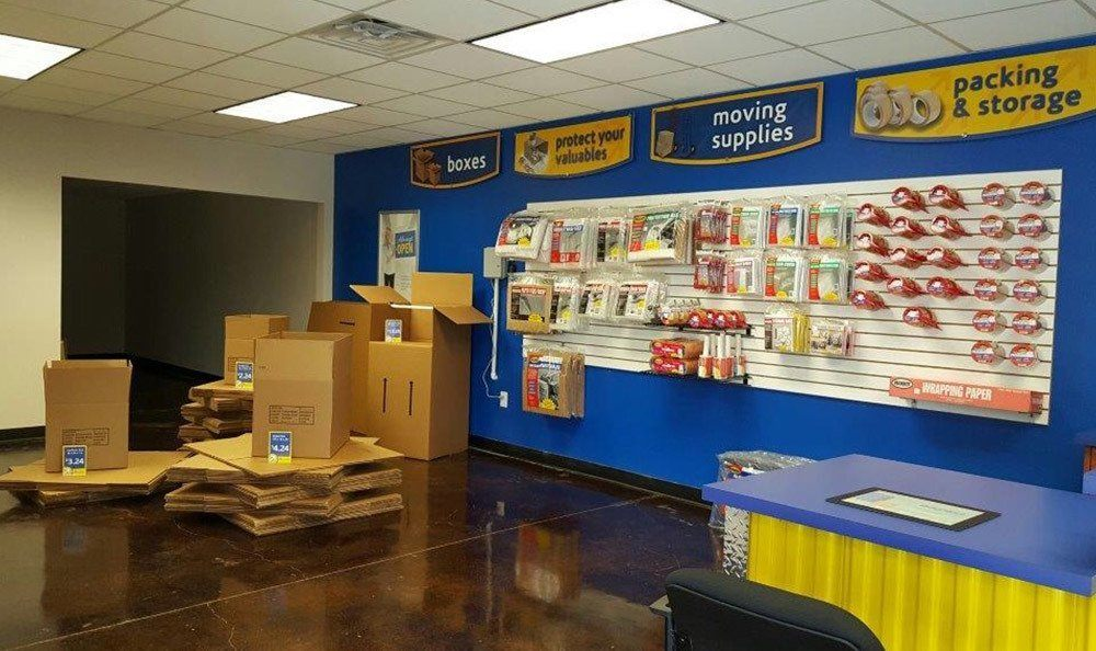 Boxes And Packing Supplies at Compass Self Storage in McKinney, TX