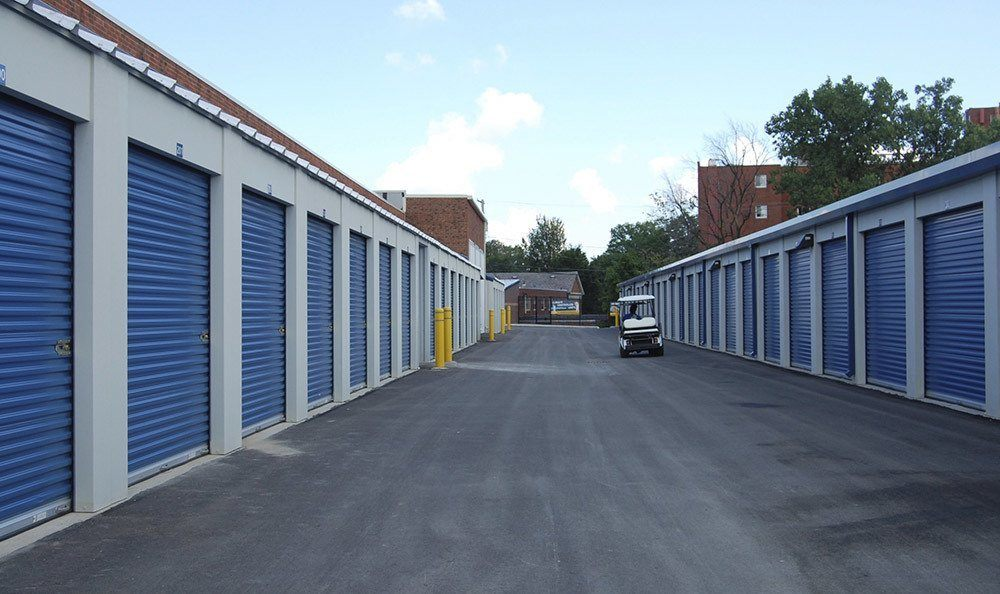 Drive Up Storage Units at Compass Self Storage in Ft. Worth, TX
