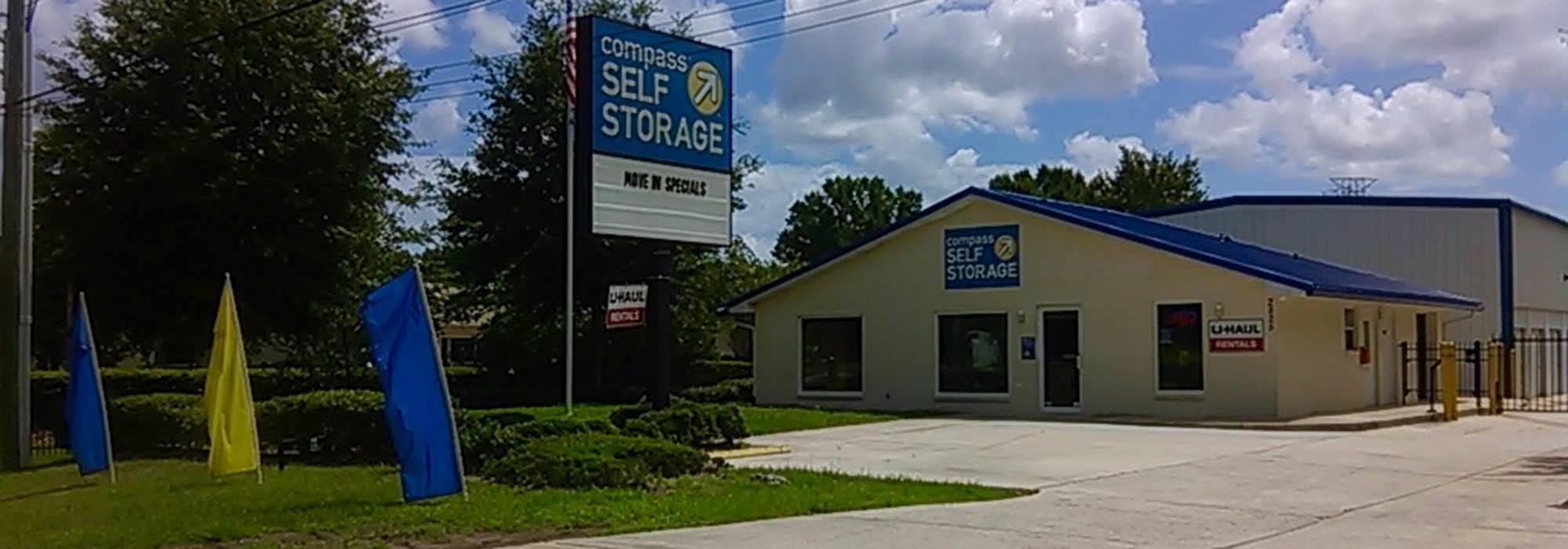 Self storage in Jacksonville FL