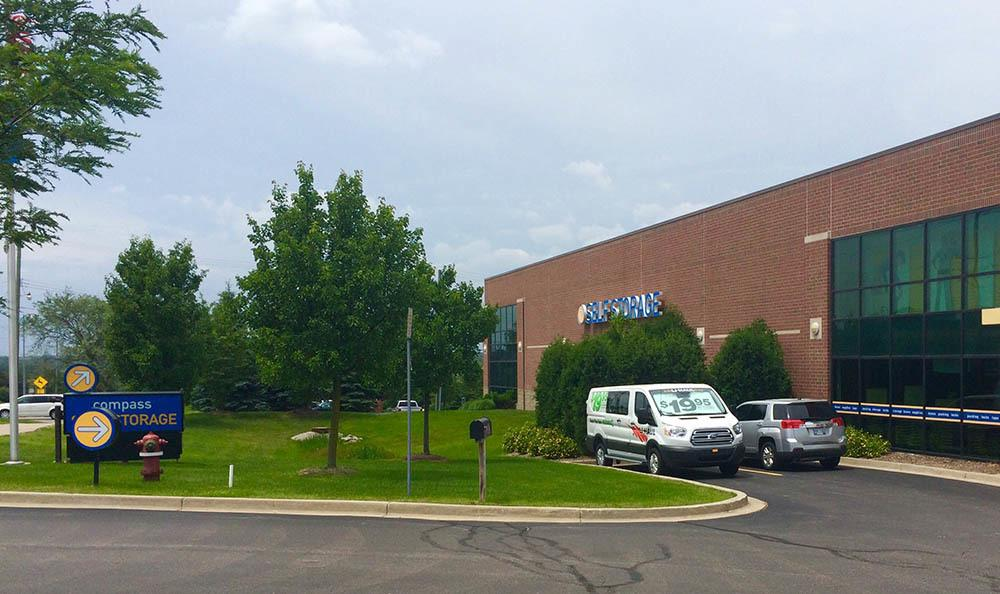 Exterior Of Storage Unit Facility at Compass Self Storage in Rochester Hills, MI