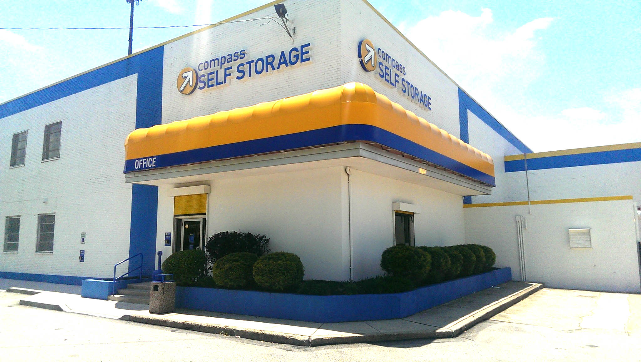 Exterior Of Office at Compass Self Storage in Philadelphia, PA