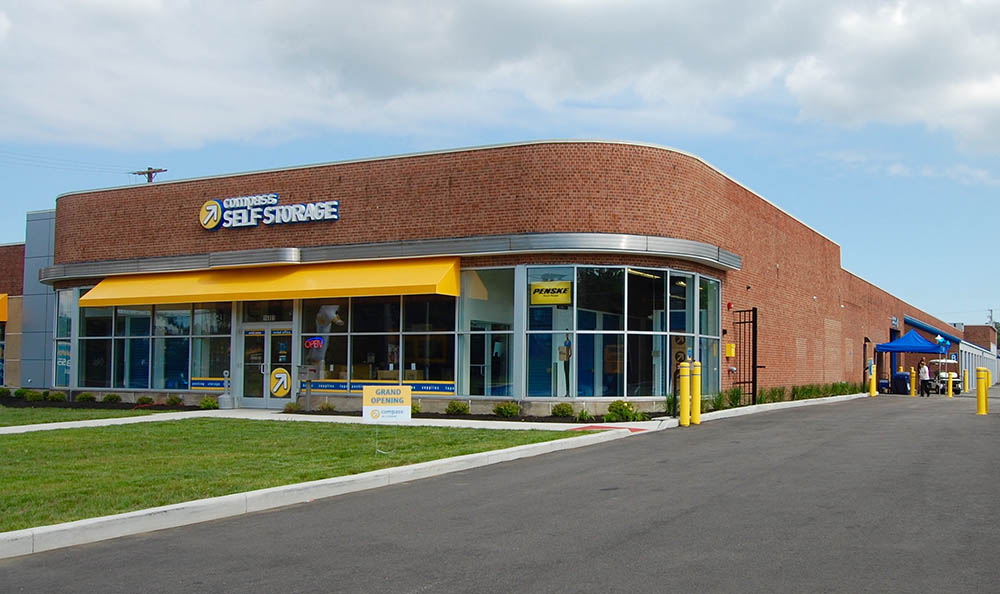 Exterior Of Compass Self Storage