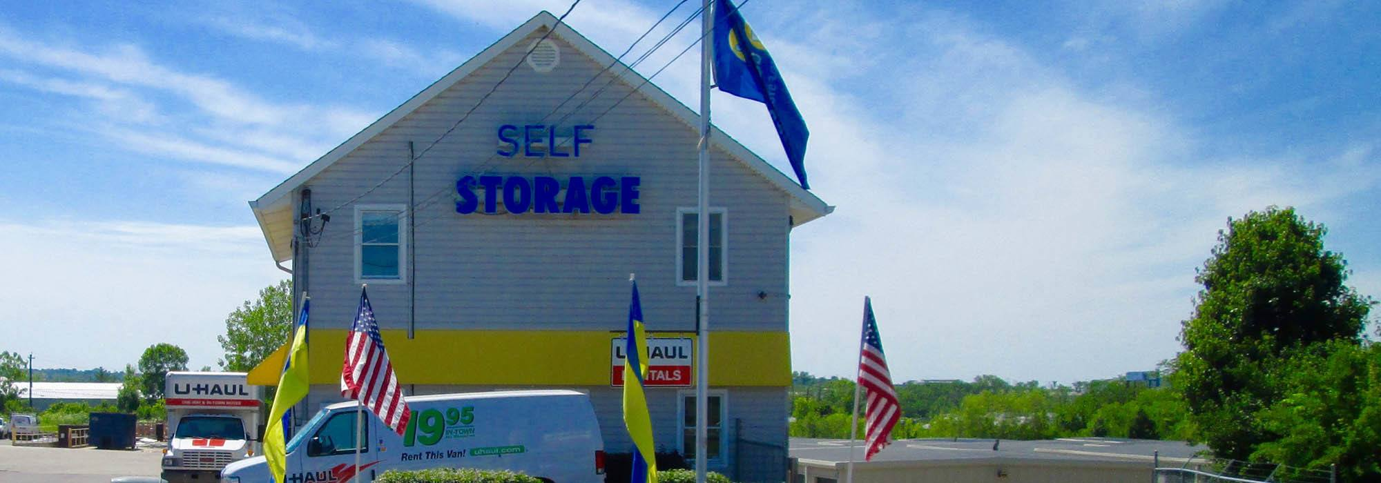 Self storage in Hamilton OH