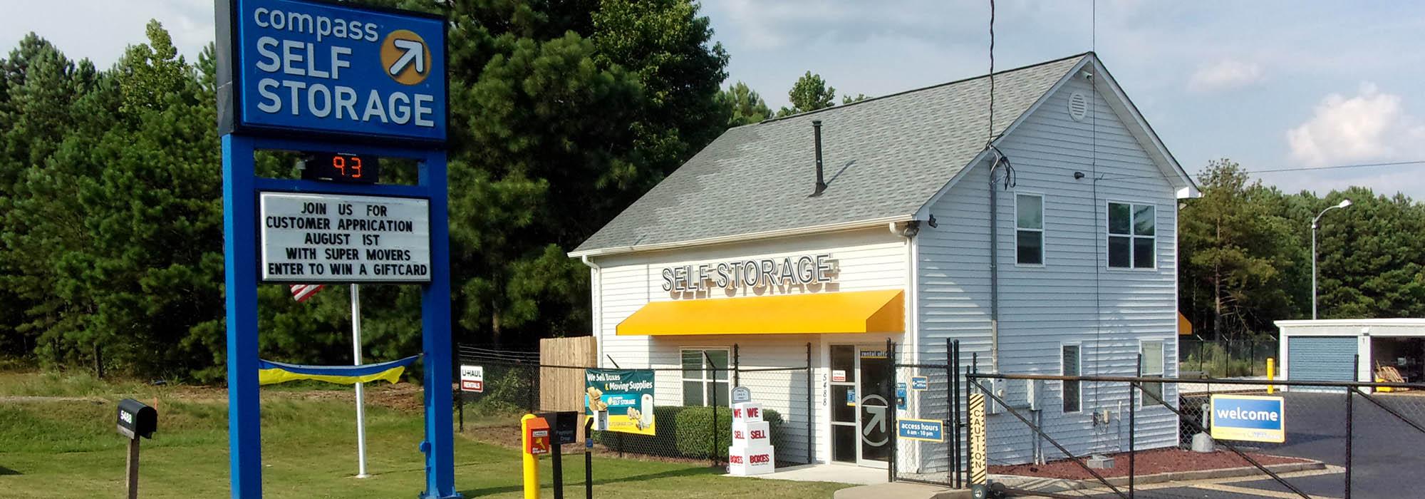 Self storage in Acworth GA