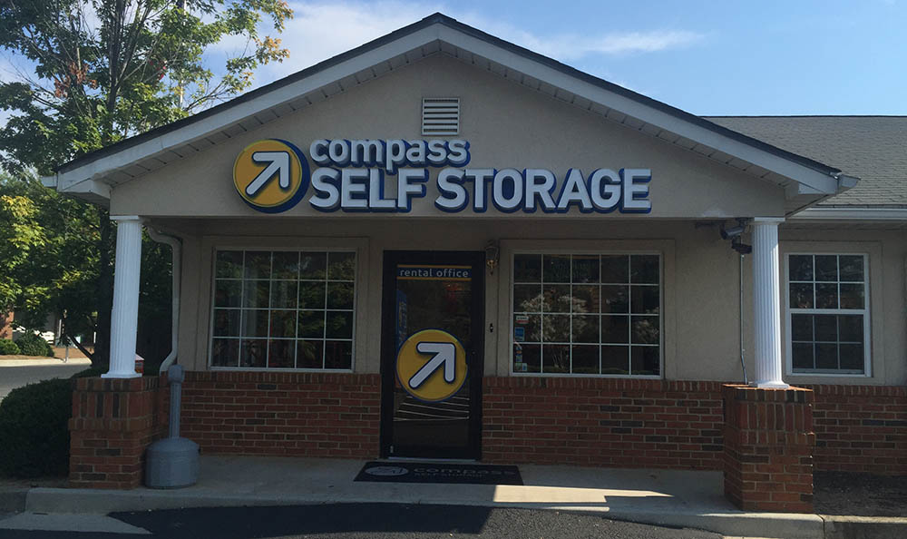 Self Storage Facility at Compass Self Storage in Marietta, GA