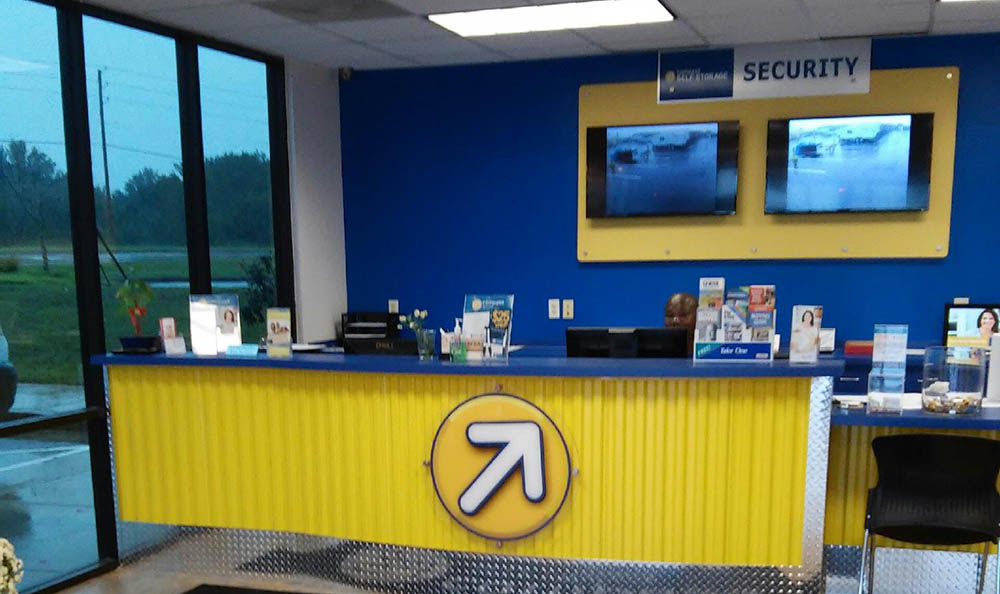 Leasing Office At Compass Self Storage In McDonough, GA