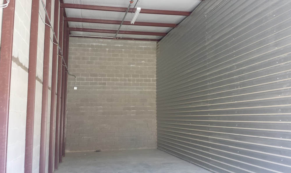 Exterior Of Storage Unit at Compass Self Storage in Mansfield
