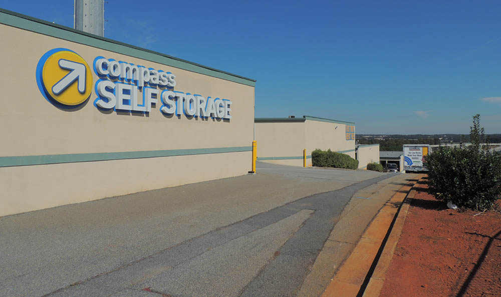 Drive Up Storage Units at Compass Self Storage in Duluth, GA