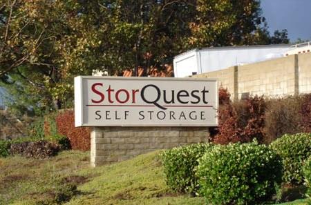 Self storage building entrance in Camarillo