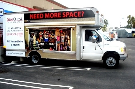 Glendale moving truck