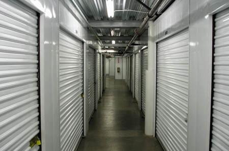 Oakland interior units hallway