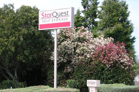 Exterior Sign at StorQuest RV/Boat and Self Storage in Vallejo, CA